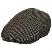Merripit Houndstooth Italian Wool Ivy Cap