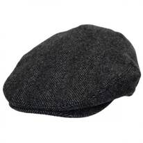 Coombe Herringbone English Wool Ivy Cap