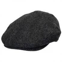Coombe Herringbone English Wool Ivy Cap