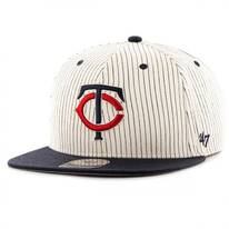 Minnesota Twins MLB Woodside Stripe Snapback Baseball Cap