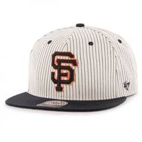 San Francisco Giants MLB Woodside Stripe Snapback Baseball Cap