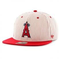 Los Angeles Angels of Anaheim MLB Woodside Stripe Snapback Baseball Cap