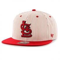 St. Louis Cardinals MLB Woodside Stripe Snapback Baseball Cap