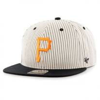 Pittsburgh Pirates MLB Woodside Stripe Snapback Baseball Cap