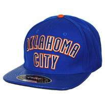 Oklahoma City Thunder NBA Gator Embossed Bill Baseball Cap