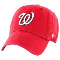 Washington Nationals MLB Kids' Clean Up Strapback Baseball Cap Dad Hat