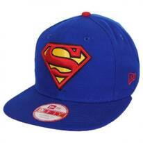 DC Comics Superman Sidecrest 9Fifty Snapback Baseball Cap