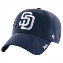San Diego Padres MLB Sparkle Strapback Baseball Cap Dad Hat