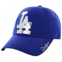 Los Angeles Dodgers MLB Sparkle Strapback Baseball Cap Dad Hat
