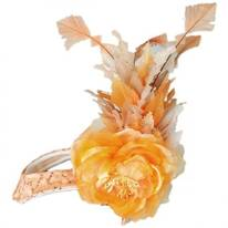 Peaches Fascinator Hat