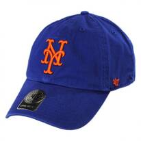 New York Mets MLB Clean Up Strapback Baseball Cap Dad Hat