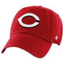 Cincinati Reds MLB Clean Up Strapback Baseball Cap Dad Hat