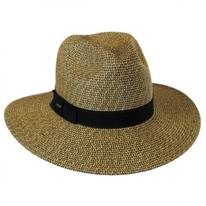 Toyo Straw Braid Fedora Hat