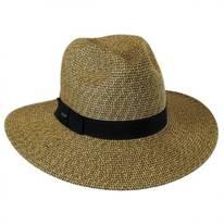 Toyo Straw Braid Fedora Hat
