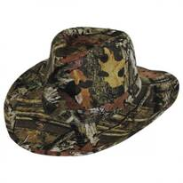 Infinity Break Up Camo Cotton Outback Hat