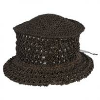 Veggie Fiber Straw Topper Hat