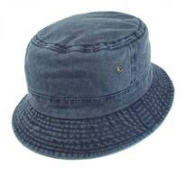 VHS Cotton Bucket Hat - Navy