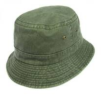 VHS Cotton Bucket Hat - Olive
