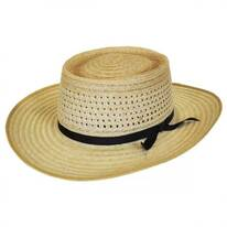 Vent Crown Hemp Straw Planter Hat