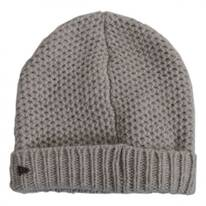 Cuff Knit Wool Beanie Hat