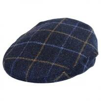 Cashmere and Wool Plaid Ivy Cap