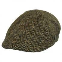 Donegal Tweed Herringbone Duckbill Ivy Cap