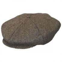 Ollie Marl Tweed Wool Blend Newsboy Cap
