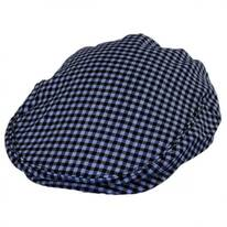 George Wool Gingham Ivy Cap