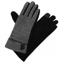 Herringbone Jersey Knit Texting Gloves