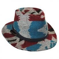 Arizona Wool Blend Safari Fedora Hat