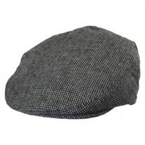 Kids' Houndstooth Wool Ivy Cap