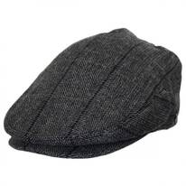 Holborn Herringbone Plaid Wool Blend Ivy Cap