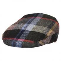 Donegal Tweed Herringbone Squares Ivy Cap