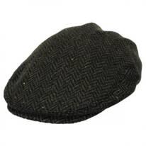 Kids' Herringbone Wool Blend Ivy Cap