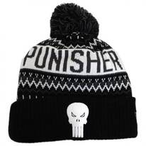 Marvel Comics Punisher Winter Knit Beanie Hat