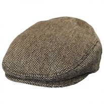 Baby Herringbone Wool Blend Ivy Cap