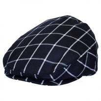 Baby Windowpane Wool Blend Ivy Cap
