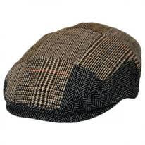 Baby Patchwork Wool Blend Ivy Cap