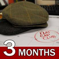 CANADA 3 Month Flat Cap Club Gift Subscription
