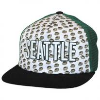 Seattle Grub Trucker Snapback Baseball Cap