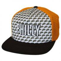Philadelphia Grub Trucker Snapback Baseball Cap