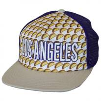 Los Angeles Grub Trucker Snapback Baseball Cap