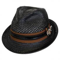 Mohican Toyo Straw Trilby Fedora Hat