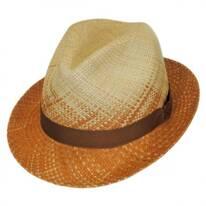 Spectrum Panama Straw Fedora Hat