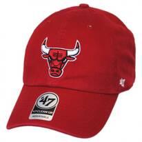 Chicago Bulls NBA Clean Up Strapback Baseball Cap Dad Hat