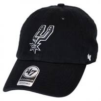 San Antonio Spurs NBA Clean Up Strapback Baseball Cap Dad Hat