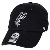San Antonio Spurs NBA Clean Up Strapback Baseball Cap Dad Hat