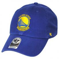 Golden State Warriors NBA Clean Up Strapback Baseball Cap