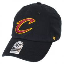 Cleveland Cavaliers NBA Clean Up Strapback Baseball Cap Dad Hat