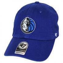 Dallas Mavericks NBA Clean Up Strapback Baseball Cap Dad Hat